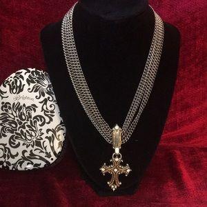 Brighton cross necklace